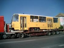 Přeprava tramvaje Plzeň - Ostrava
